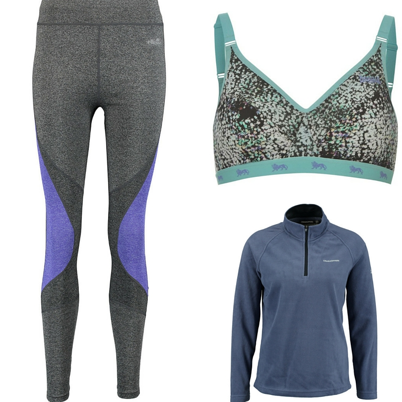 SKI WEAR - Thermals and Sports Bras - a day at a time